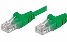 Networking PATCH FTP CAT.5E VERDE 3,0MT (Confezione da 10pz)