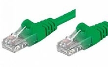 Networking PATCH UTP CAT.5E VERDE 1,0MT (Confezione 10pz)