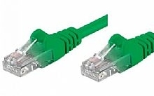 Networking PATCH UTP CAT.5E VERDE 3,0MT (Confezione da 10pz)