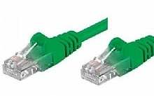 Networking PATCH UTP CAT.5E VERDE 5,0MT (Confezione da 10pz)