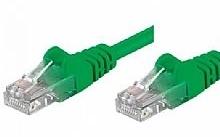 Networking PATCH UTP CAT.5E VERDE 5,0MT (Confezione da 10pz)