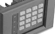 ABB Tastiera bidirezionale argento