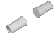 EmaCereda Contatto Magnetico Incasso A Sigaretta Plastico Bianco Corto