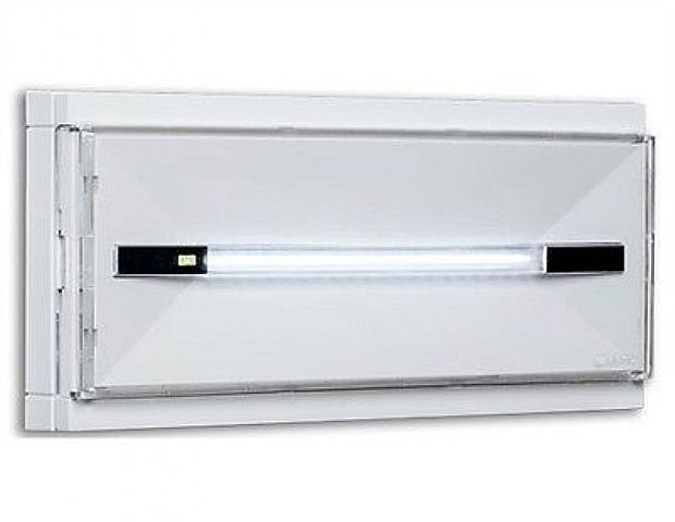 Plafoniere Led Con Emergenza : Linergy [pr08f13ebi] lampada emergenza prodigy 8w 10led 1 5h ip42