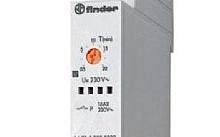 Finder Relè luci scale modulare Serie 14
