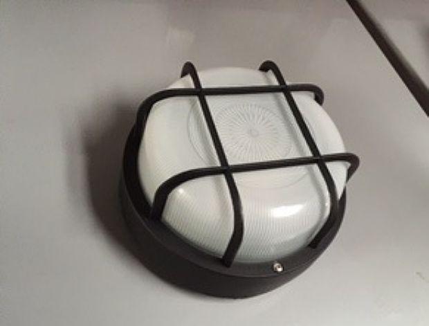 Plafoniere Con Griglia : Leonardo [90sg ner] plafoniera nera vetro piatto con griglia