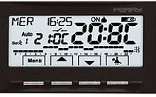 Perry Electric Cronotermostato Parete Touchscreen Next Nero Batteria
