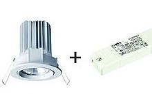 Side Lighting Faretto da Incasso Jolly Led orientabile bianco 10W