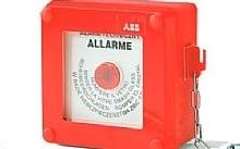 ABB Quadretto Emergenza ROSSO con pulsante