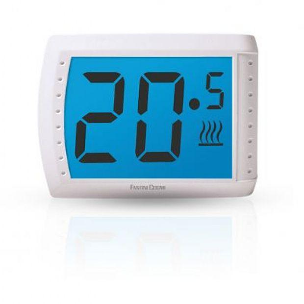 Fantini cosmi c83 termostato touch screen da parete for Istruzioni termostato fantini cosmi