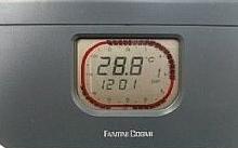 Fantini Cosmi C58N Cronotermostato Antracite giornaliero a batterie