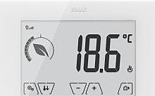 Vimar Termostato touch GSM parete 230V bianco