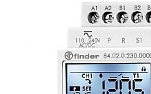 Finder SMARTimer NFC Multifunzione con Display 110-240V