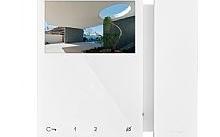 Comelit Monitor mini a colori con cornetta white