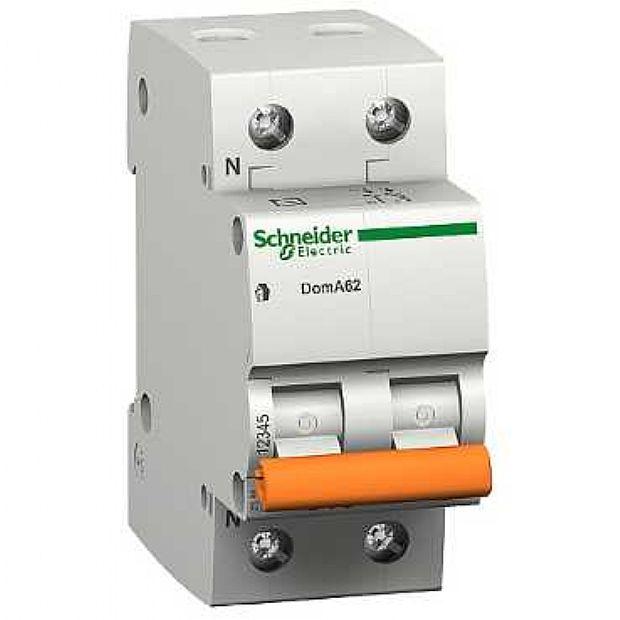 Interruttori Magnetotermici Schneider Electric DOMA47C25