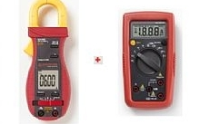 Fluke Multimetro a pinza 600A + multimetro AM500