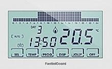 Controllo temperatura ambiente perry electric fantini for Cronotermostato ch140 gsm fantini cosmi