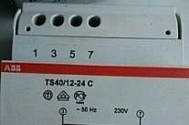 ABB Trasformatore TS40VA 12-24V C