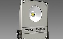 Disano Mini Rodio Led 45W 6550lm 4000°K IP66 grafite