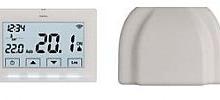 Perry Electric Starter Kit composto da cronotermostato settimanale Wi-Fi e Smartbox