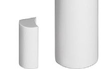 Bticino Contatto magnetico radio dotato di 2 ingressi/zone supplementari