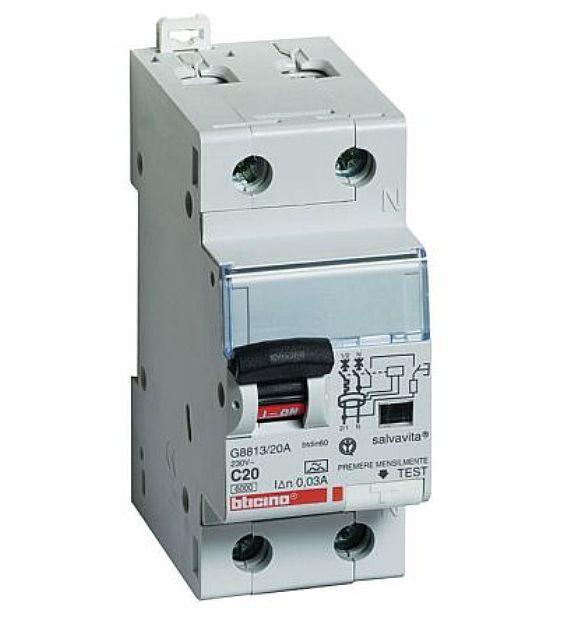 Interruttori Magnetotermici Bticino G8230/10AC