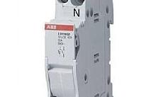 ABB Sezionatore porta fusibili E 90 1P+N, 32A