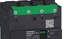 Schneider Electric Interruttore magnetotermico NSXM 16KA TM100D 4P/3R everlink