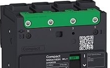 Schneider Electric Interruttore magnetotermico NSXM 16KA TM160D 4P/3R everlink