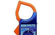 EmaCereda Pinza amperometrica digitale KMP-33 con tensione DC da 200mV a 1000V