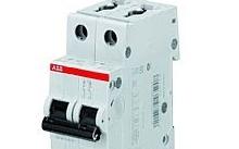 ABB Interruttore magnetotermico S 202 L-C10 2P 10A