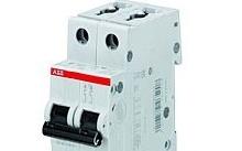 ABB Interruttore magnetotermico S 202 L-C6 2P 6A