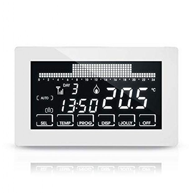 Controllo Temperatura Ambiente Fantini Cosmi CH193BWIFI