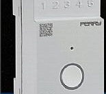 Perry Electric Interruttore orario astronomico Wi-Fi 2 DIN