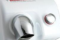Fumagalli componenti Asciugamani MAGNUM con pulsante Bianco