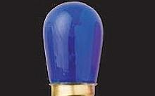 Wimex Lampade ad incandescenza 5W E14 blu - Confezione da 10pz