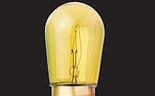 Wimex Lampade ad incandescenza 5W E14 gialla - Conf. da 10pz.