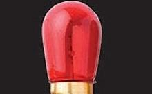 Wimex Lampade ad incandescenza 5W E14 rossa - Conf. 10pz