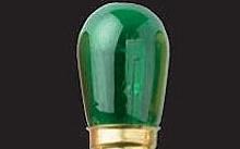 Wimex Lampade ad incandescenza 5W E14 verde - Conf. da 10pz