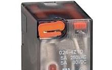 Lovato Relè con indicatore LED e attuatore meccanico 230VAC 4 scambi