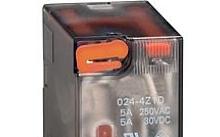 Lovato Relè con indicatore LED e attuatore meccanico 24VDC 4 scambi