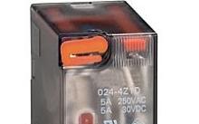 Lovato Relè con indicatore LED e attuatore meccanico 230VAC 2 scambi