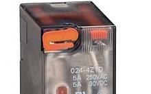 Lovato Relè con indicatore LED e attuatore meccanico 24VDC 2 scambi