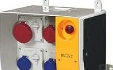 Scame MBOX2 con spina+emergenza pr.s/fusibili
