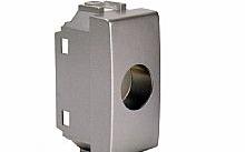 Televes Plastica per prese coassiali 1 foro  tipo LIGHT grigia