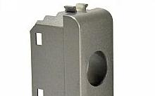 Televes Plastica per prese coassiali 1 foro tipo LIGHT TEC grigia