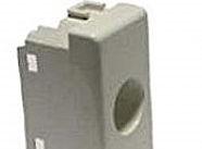 Televes Plastica per prese coassiali 1 foro tipo MATIX grigia
