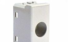 Televes Plastica per prese coassiali 1 foro tipo VIMAR PLANA bianca