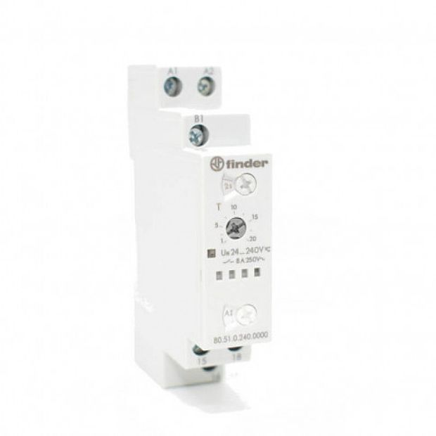 finder 840200240000  relè multifunzione smart Timer NFC  temporizzatore digitale