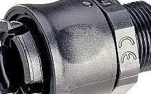 Legrand Raccordo LGP dritto diametro 23 mm nero M32 - Conf.10pz